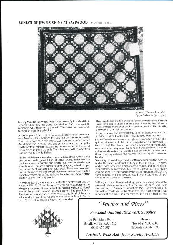 1989 EPQ Exhibition - DuQ article
