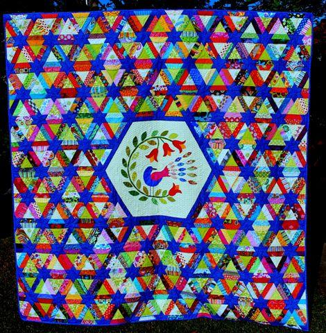 EPQ first prize raffle quilt