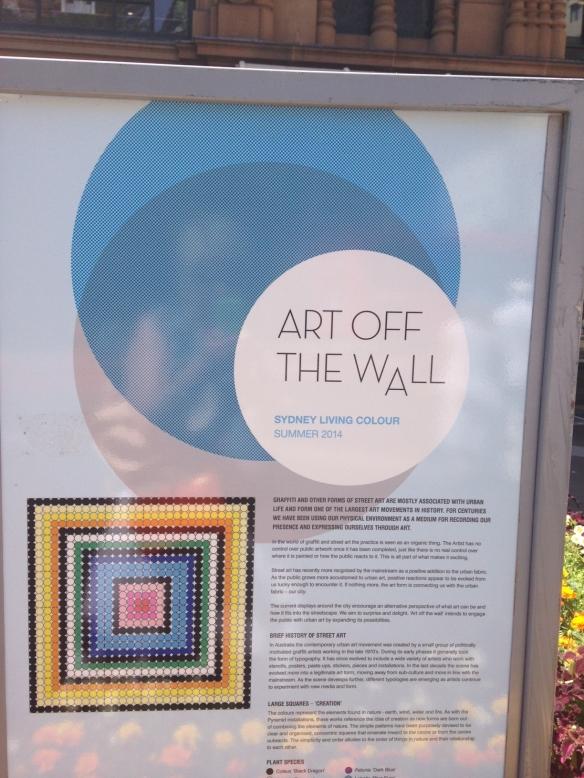 art off wall
