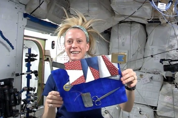 sewing in space